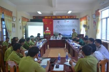 Tăng cường các biện pháp phối hợp quản lý khu vực tiếp giáp biên giới Việt-Lào trên địa bàn huyện Minh Hoá